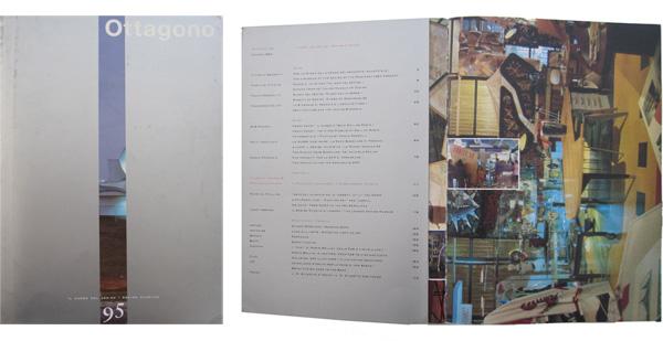 Copertina e sommario del numero 95 di Ottagono (1990, giugno) dedicato alla questione del museo del design.