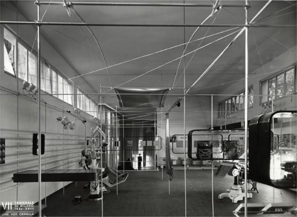 Mostra internazionale della produzione in serie, VII Triennale, Milano 1940 (Immagine fornita dall'autore).