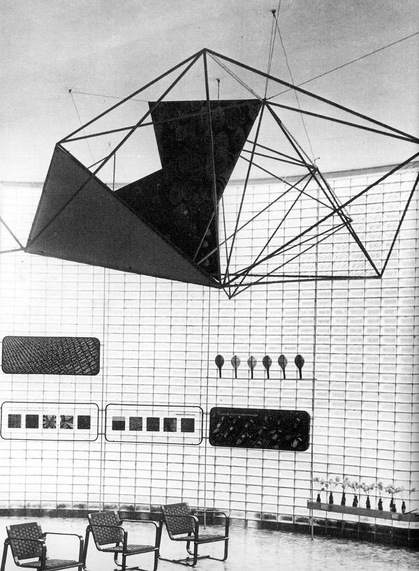 Mostra internazionale della produzione in serie, VII Triennale, Milano 1940 (Immagini fornite dall'autore).