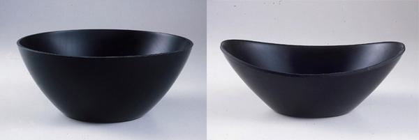 Contenitori per uso domestico realizzati in PMMA mediante termoformatura e finitura Homeform, progetto interno di Giovanni e Raimondo Guzzini, anni '60. Proprietà Fratelli Guzzini.