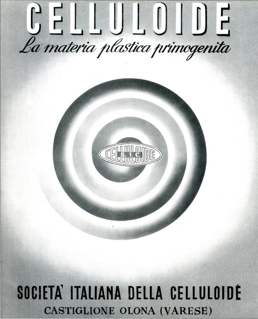 Copertina di una pubblicazione sulla Celluloide.