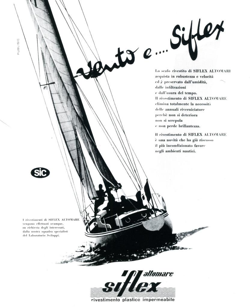 Immagine pubblicitaria delle applicazioni nautiche dei prodotti polimerici.