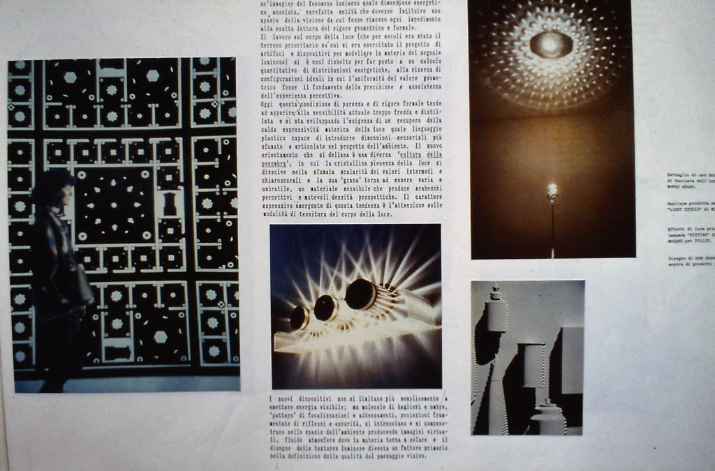 Manuale di progetto per SINEL, 1987.