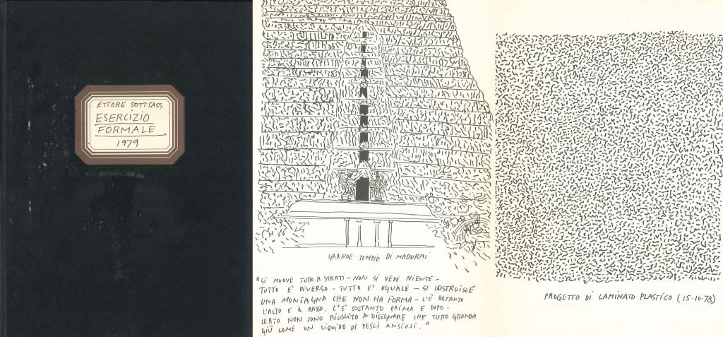 Pagine estratte da: Sottsass, E. (1979). Esercizio formale. Lissone: Alessi fratelli S.p.A.