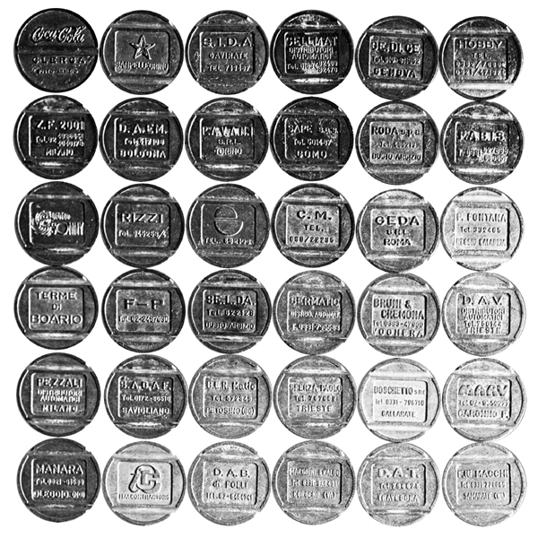 I gettoni sostitutivi della moneta
