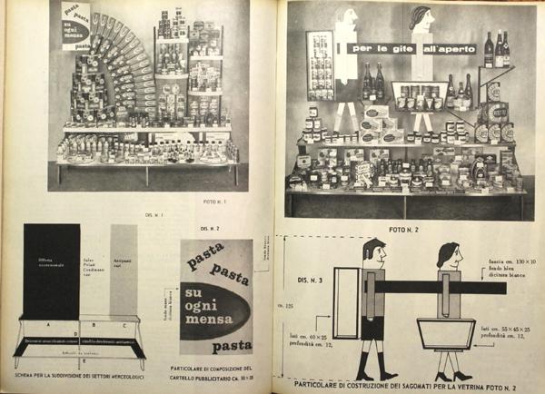 Esempi di vetrine alimentari in Vendere generi alimentari