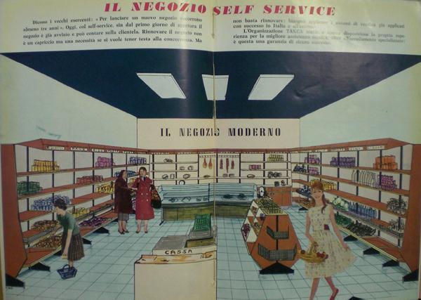 Organizzazione Tanca di Milano, il negozio a self-service in Negozi, supermercati, self service