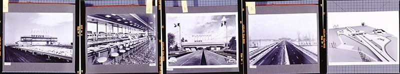 Autogrill Fiorenzuola D'Arda foto d'epoca. Fondo Pavesi Archivio Storico Barilla