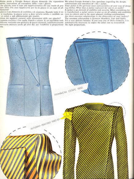 Fig. 6 - Domus Moda, allegato a Domus, 621, ottobre 1981, p. 31.