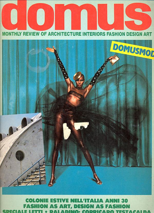 Copertina di Domus, 660, aprile 1985.