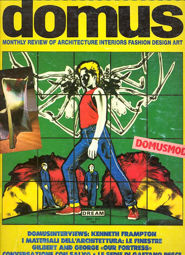 Copertina di Domus, 662, giugno 1985.