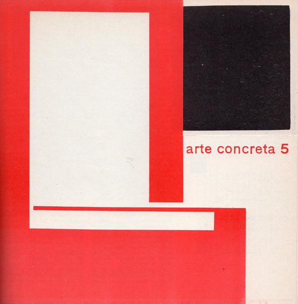 """Fig. 7 - Bruno Munari, copertina del quinto bollettino di """"Arte concreta"""", marzo 1952 / Courtesy collezione Giancarlo Iliprandi"""