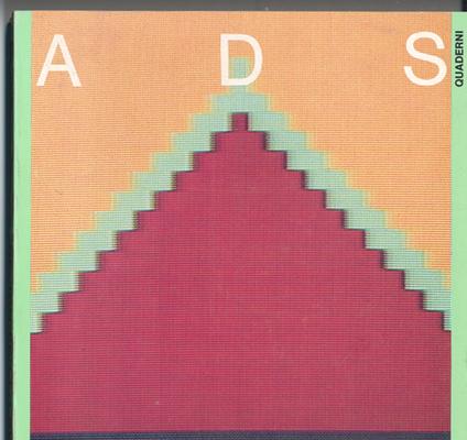 Fig. 8 - Copertina del primo numero di ADS, 1984.