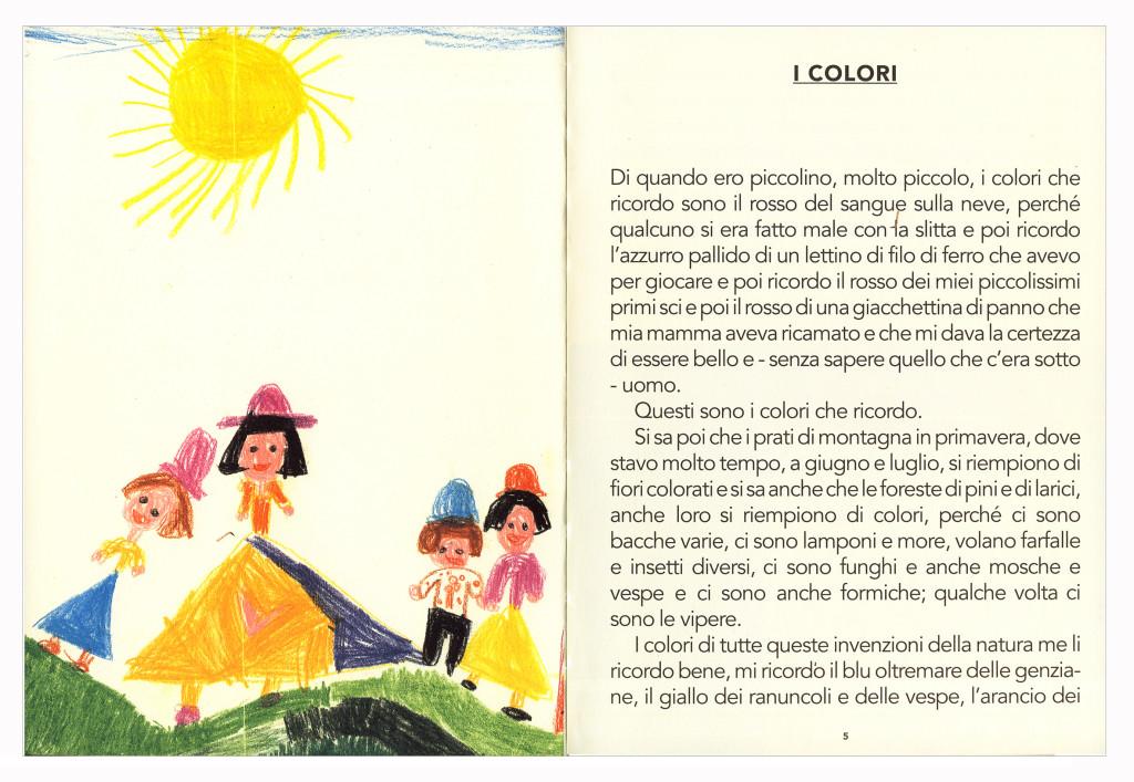 Il capitolo dedicato a I colori scritto da Ettore Sottsass e pubblicato nel 1993 in B. Radice (a cura di), Ettore Sottsass. Note sul colore, supplemento alla rivista Elementi edita dall'azienda Abet Laminati