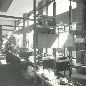 2: Negozio di arredamento Arform in via Turati a Milano, 1955 / courtesy Archivio fotografico Arform.