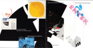 Fig. 7 - Total Design, Total Design 25 years, anniversary publication, 1988, spread / Personal collection of the author