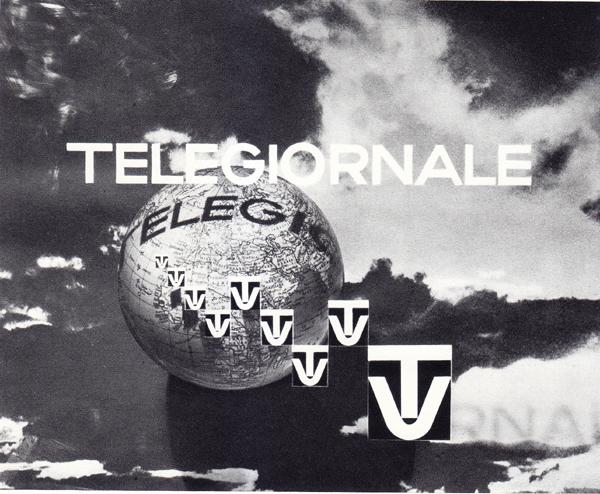 """Fig. 8 - Erberto Carboni, """"Schermo fisso"""" per il telegiornale, 1954 (da Carboni, 1959)."""
