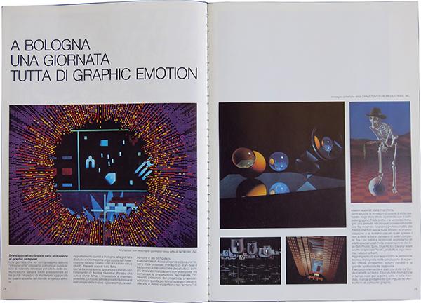 Fig. 1 - Apertura dell'articolo di Massimo Dradi (1984/3-4).