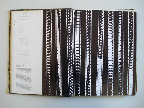Fig. 12-13-14 - Studio di Monte Olimpino, Titolazione programmata per la Radiotelevisione italiana, pubblicata in Pagina, 4, 1964.