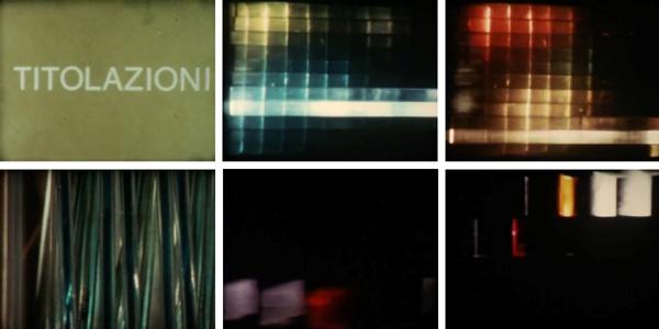 Fig. 16 - Fotogrammi dal documentario Monte Olimpino 1963-1967, 1967, Archivio Andrea Piccardo.