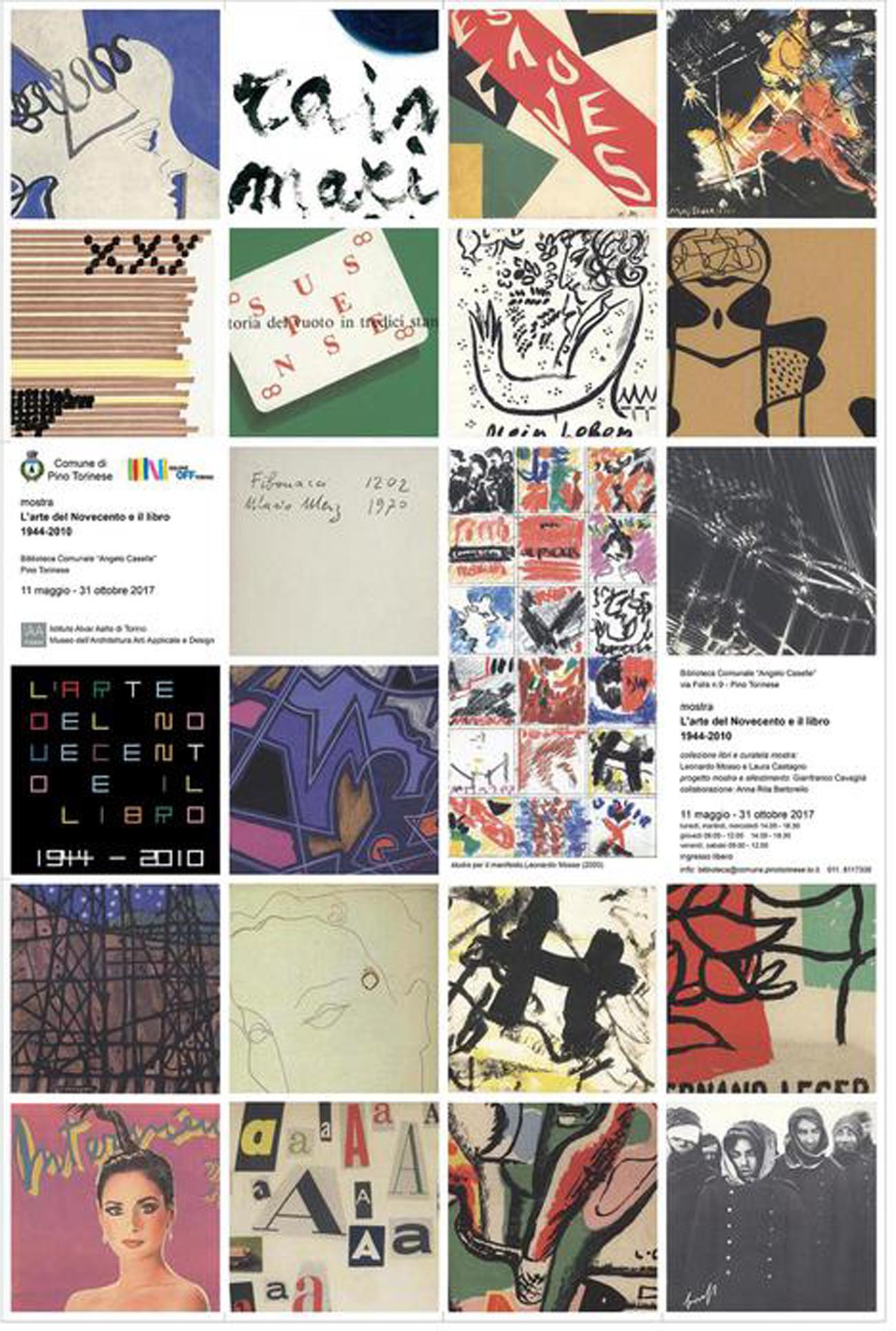 14 – Manifesto della mostra L arte del Novecento e il libro 1944-2010 c84ae0263a5
