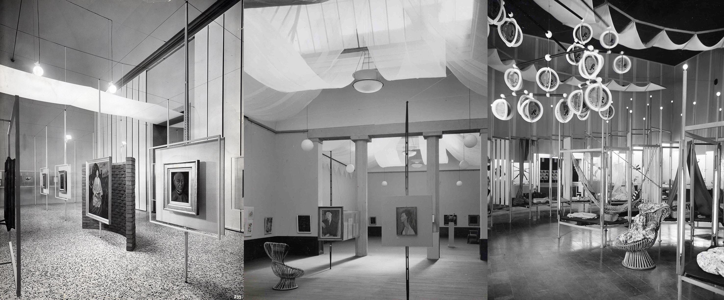 """buy online 8b33e 71418 12 – Franco Albini  mostra Scipione e del """"Bianco e Nero"""", Pinacoteca di  Brera, 1941  Mostra d arte italiana a Stoccolma, 1953  stand Rhodiatoce  alla Fiera ..."""