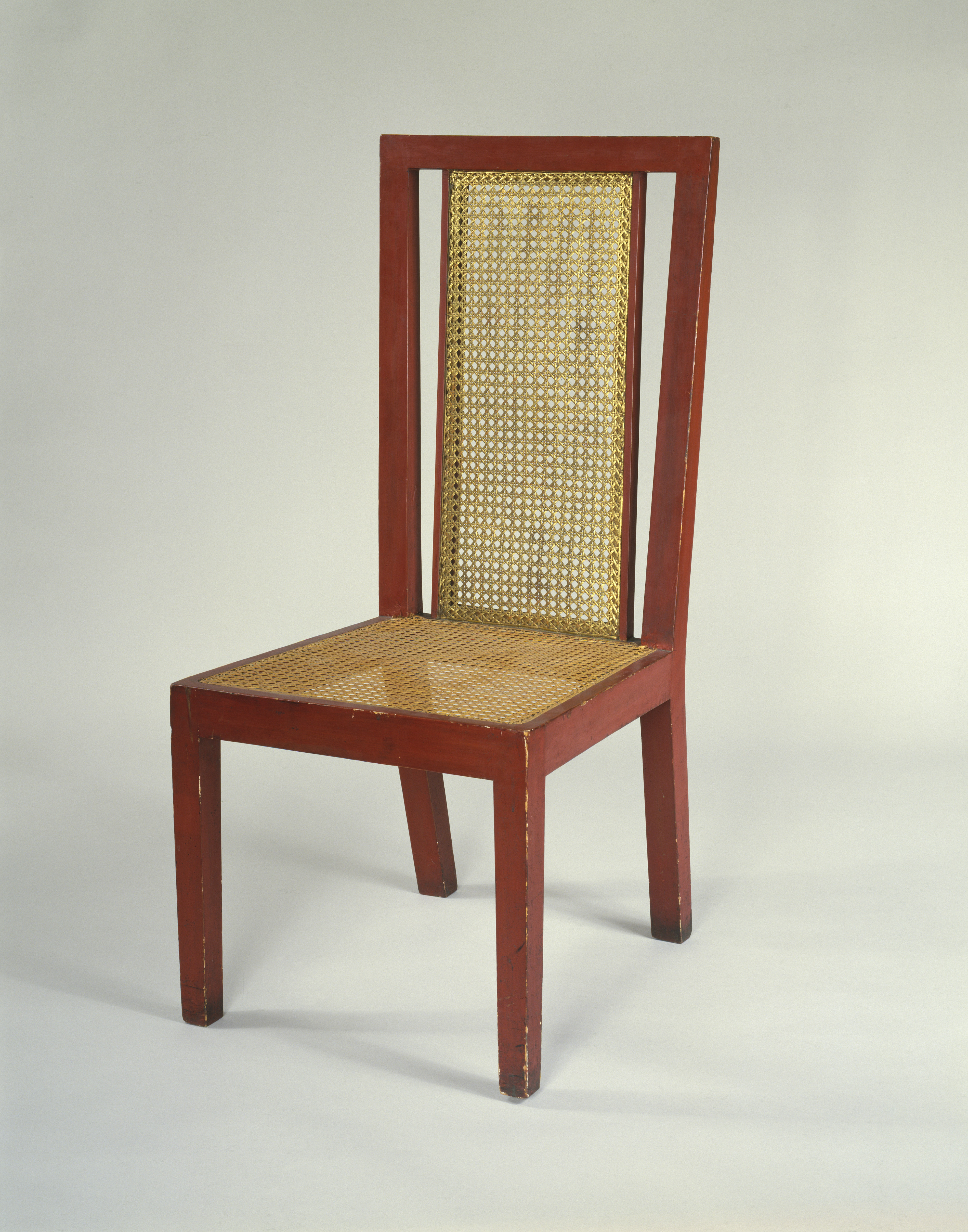 1 Fry - 1913, Chair for Dryad Furniture for Omega Workshop