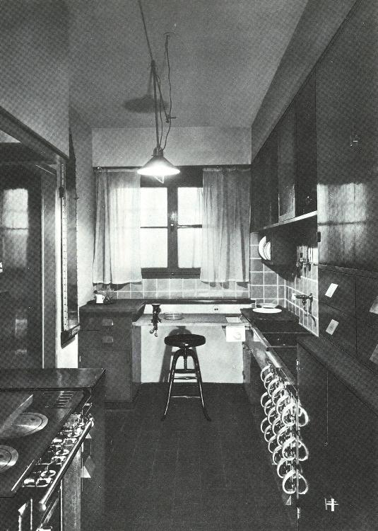 Margarete Schütte-Lihotzky Frankfurt Kitchen, Frankfurt, Germany 1926