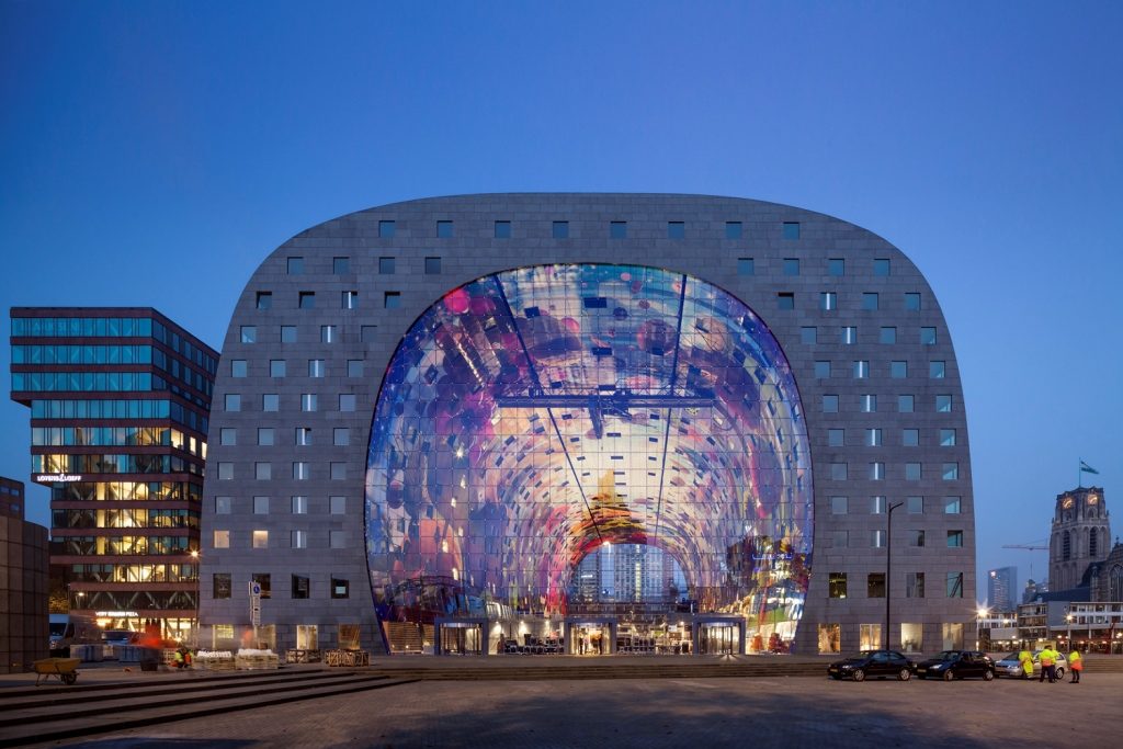 MVRDV MarktHal Rotterdam 2014 © Daria Scagliola & Stijn Brakkee © Ossip van Duivenbode