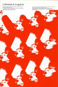 Fig. 3 Diego Birelli, libretto di sala Musiche di Luigi Nono, Piccolo Teatro di Milano, 1967 / courtesy Archivio Progetti – Università Iuav di Venezia, Fondo Diego Birelli.