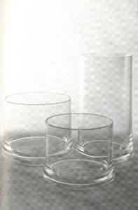 8: Paolo Tilche, servizio da tavola in plastica Pagoda per Guzzini, 1963-64 / courtesy Archivio fotografico Arform.