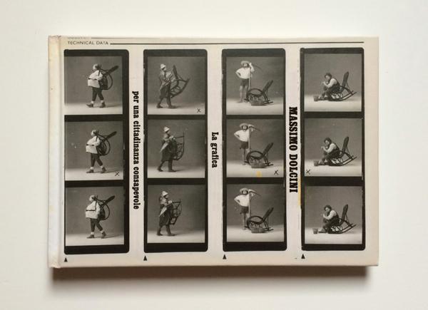 Copertina del catalogo Massimo Dolcini. La grafica per una cittadinanza consapevole