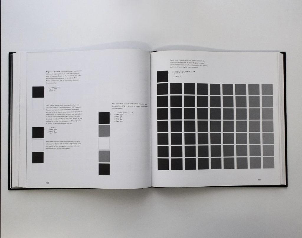 Fig. 2-5 <i>Design By Numbers</i>, pagine interne del volume.