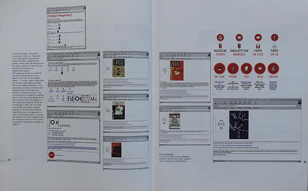 Fig. 11 - Pagina interna dell'articolo di Giovanni Baule (1993/7) dedicato alle riviste in rete.
