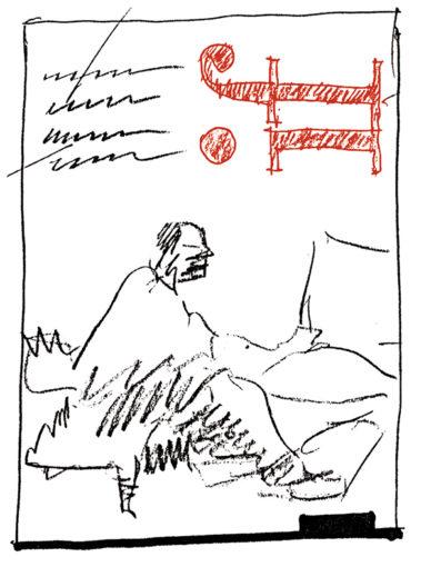 """Fig. 2 - Italo Lupi, studio per il layout della rivista If, house organ di IBM Italia, 1993 / Archivio Lupi, Milano."""" width=""""744"""" height=""""978"""" /> Fig. 2 - Italo Lupi, studio per il layout della rivista If, house organ di IBM Italia, 1993 / Archivio Lupi, Milano."""